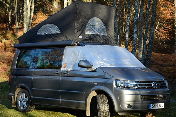 VW California with Cold Weather Protection.
